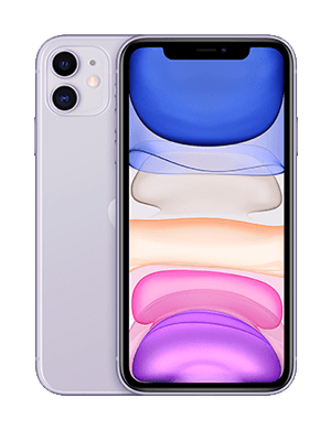 Apple iPhone 11 - violett - o2