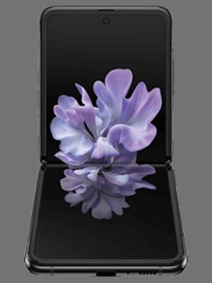 Samsung Galaxy Z Flip - schwarz geklappt - o2
