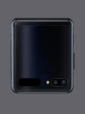 Samsung Galaxy Z Flip - schwarz zugeklappt - o2