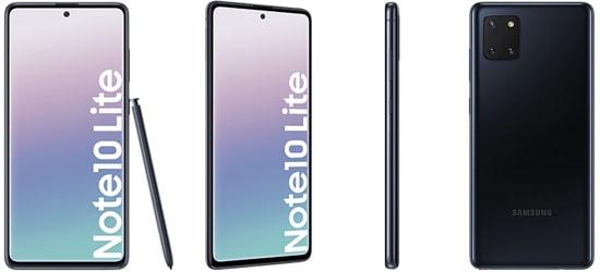 Samsung Galaxy Note10 lite mit o2 Handyvertrag