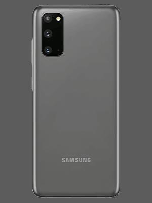 Samsung Galaxy S20 5G - grau hinten - o2
