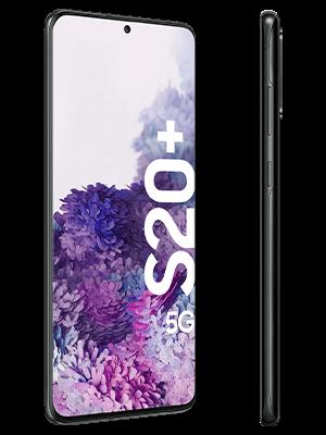 Samsung Galaxy S20+ 5G - schwarz (seitlich) - o2