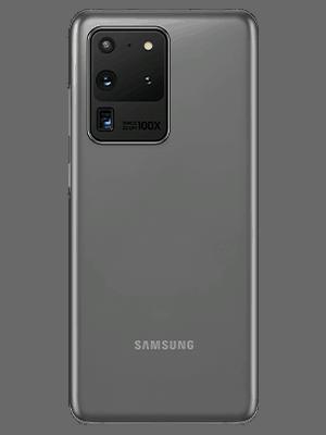 Samsung Galaxy S20 Ultra 5G in grau (hinten) - o2
