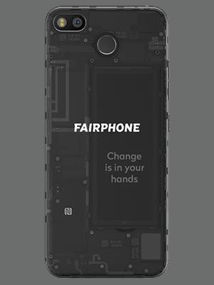 o2 - Fairphone 3 - schwarz (hinten)