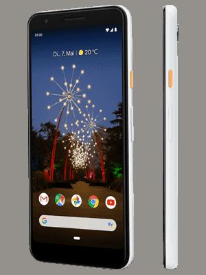 o2 - Google Pixel 3a - weiß (seitlich)