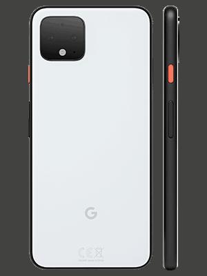 o2 - Google Pixel 4 - weiß (hinten / seitlich)