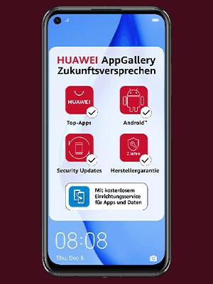 o2 - Huawei P40 lite - AppGallery