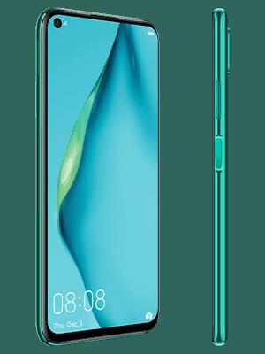 o2 - Huawei P40 lite - grün (seitlich)