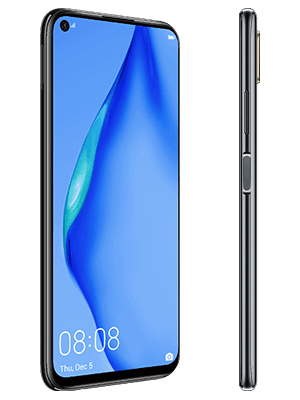 o2 - Huawei P40 lite - schwarz (seitlich)