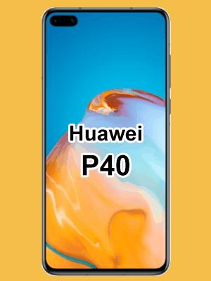 o2 - Huawei P40 mit Vertrag
