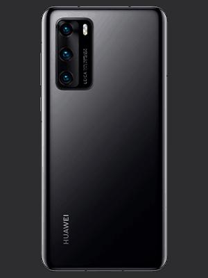 o2 - Huawei P40 - schwarz (hinten)