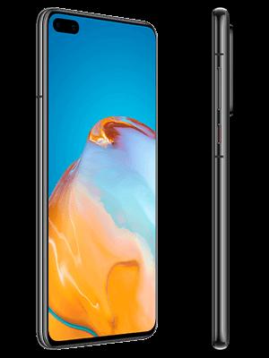 o2 - Huawei P40 - schwarz (seitlich)