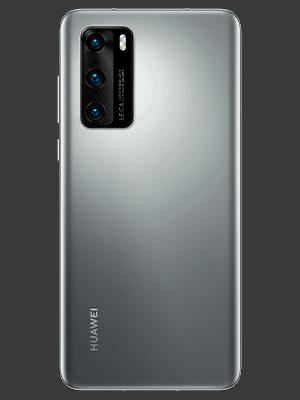o2 - Huawei P40 - silber (hinten)