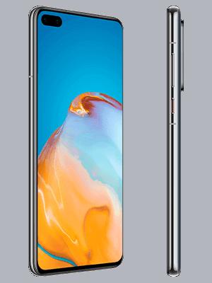 o2 - Huawei P40 - silber (seitlich)