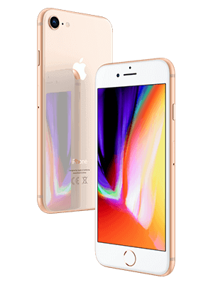 o2 - Apple iPhone 8 - gold (seitlich)