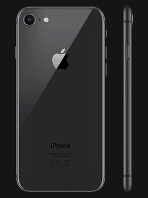 o2 - Apple iPhone 8 - schwarz (hinten)