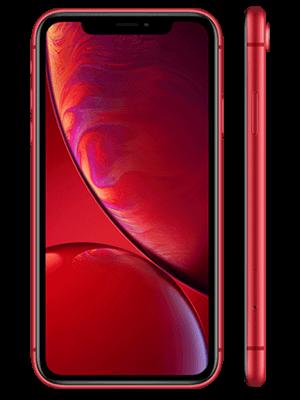 o2 - Apple iPhone XR - rot / red (vorn und seitlich)