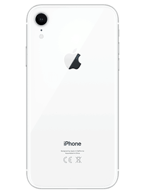 o2 - Apple iPhone XR - weiß (hinten)