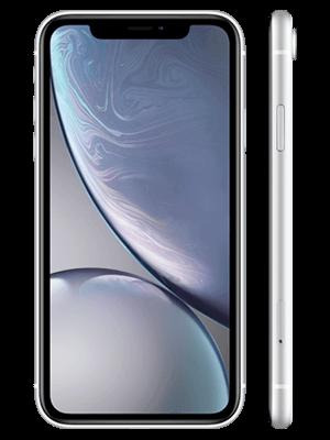 o2 - Apple iPhone XR - weiß (vorn und seitlich)