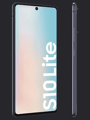 o2 - Samsung Galaxy S10 Lite - schwarz (seitlich)
