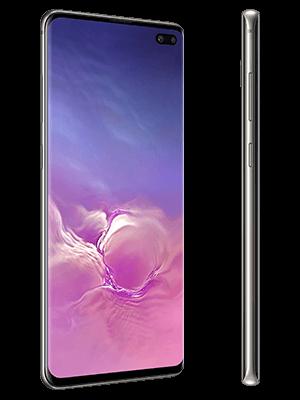o2 - Samsung Galaxy S10+ - schwarz (seitlich)