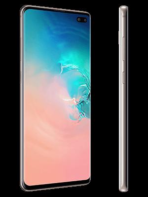 o2 - Samsung Galaxy S10+ - weiß (seitlich)