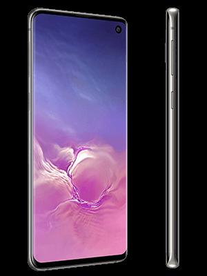 o2 - Samsung Galaxy S10 - schwarz (seitlich)