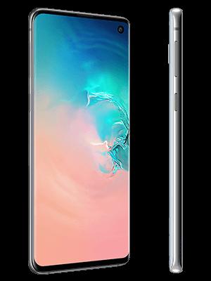 o2 - Samsung Galaxy S10 - weiß (seitlich)
