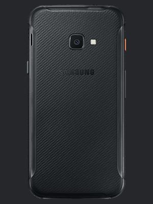 o2 - Samsung Galaxy Xcover 4s - schwarz (hinten)