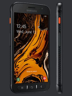 o2 - Samsung Galaxy Xcover 4s - schwarz (seitlich)