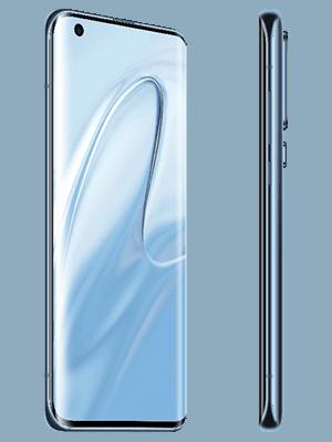 o2 - Xiaomi Mi 10 - grau / schwarz (seitlich)