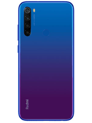 o2 - Xiaomi Redmi Note 8T - blau (hinten)