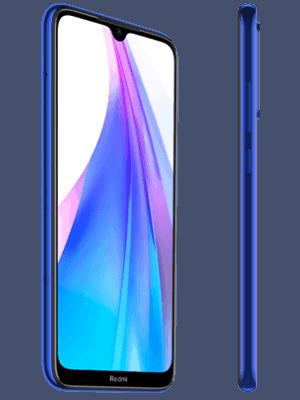 o2 - Xiaomi Redmi Note 8T - blau (seitlich)