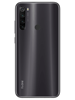 o2 - Xiaomi Redmi Note 8T - schwarz (hinten)