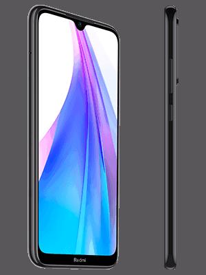o2 - Xiaomi Redmi Note 8T - schwarz (seitlich)