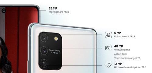 Kamera vom Samsung Galaxy S10 Lite