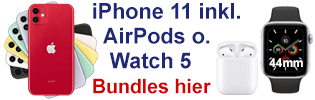 Apple iPhone 11 mit Watch oder AirPods bei o2