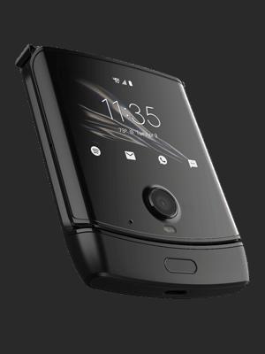 o2 - Motorola razr - zusammengeklappt