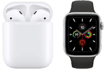 Apple Watch 5 oder AirPods