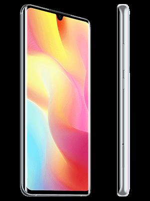 o2 - Xiaomi Mi Note 10 lite (weiß / seitlich)