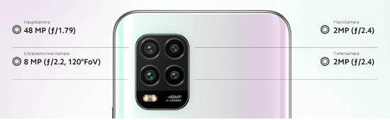 Kamera vom Xiaomi Mi 10 lite 5G