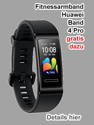 Huawei Band 4 Pro - Fitnessband gratis bei o2