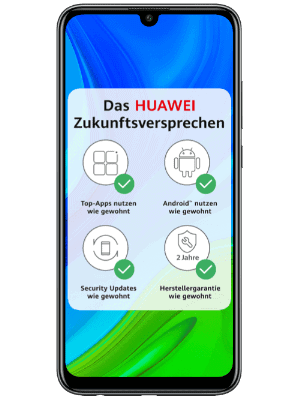 o2 - Huawei P Smart 2020 mit Zukunftsversprechen