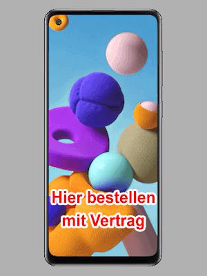 o2 - Samsung Galaxy A21s hier bestellen mit Vertrag
