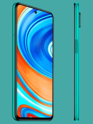 o2 - Xiaomi Redmi Note 9 Pro (grün / seitlich)