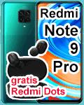 o2 - Xiaomi Redmi Note 9 Pro mit gratis Kopfhörer