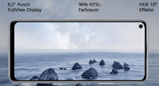 Display vom Huawei P40 lite 5G