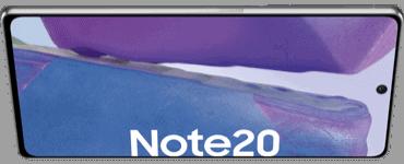 Display vom Samsung Galaxy Note20
