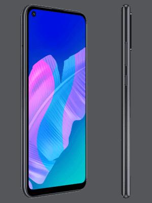 o2 - Huawei P40 lite E (schwarz / seitlich)