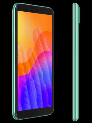 o2 - Huawei Y5p (grün / seitlich)